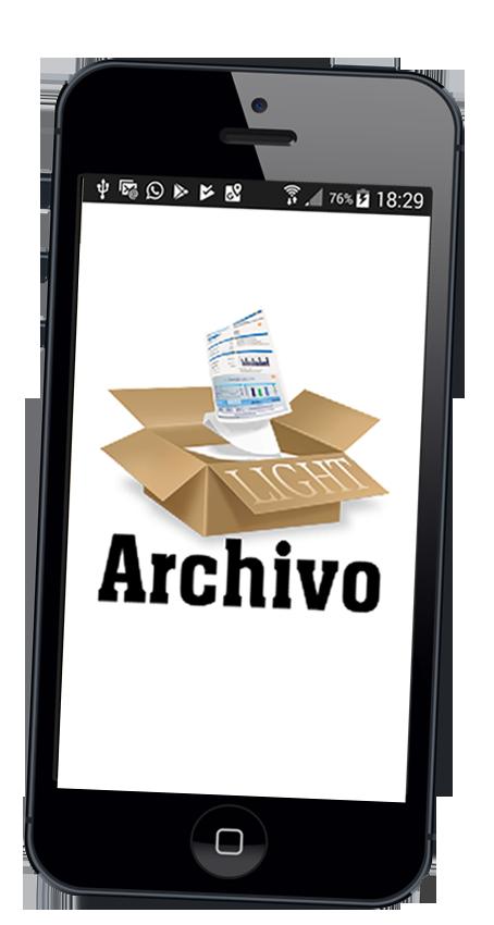 Archivo Light. Archiva en tu móvil y encuentra fácil lo que archivas...