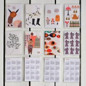 Calendarios de Bolsillo - Pack de 500