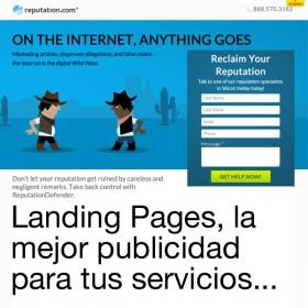 Diseño Landing Pages