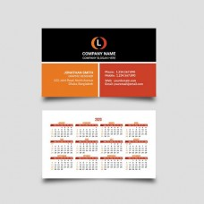 Calendar/Business Card